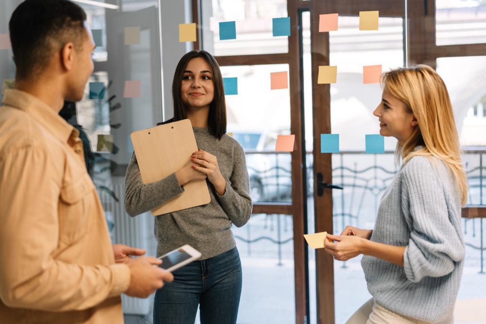 tech talent scrum to work on software development project